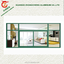 Office partition aluminum soundproof cheap price glass fixed windows