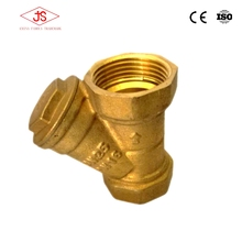 brass jis y-type water strainer