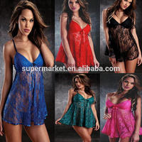 Hot Wholesale Lady Sexy Eight colors High quality New Design fat women sexy lingerie