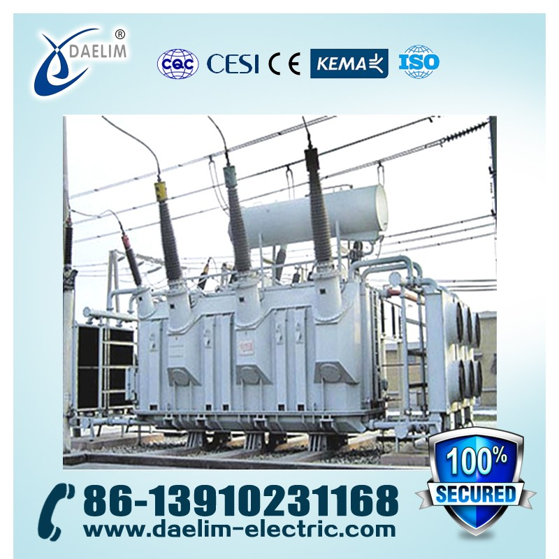 High Voltage High Withstand 132kv 40000kva Powering Transformer