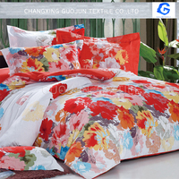 Cheap bedding fabric disperse printing fabric hometextile fabric