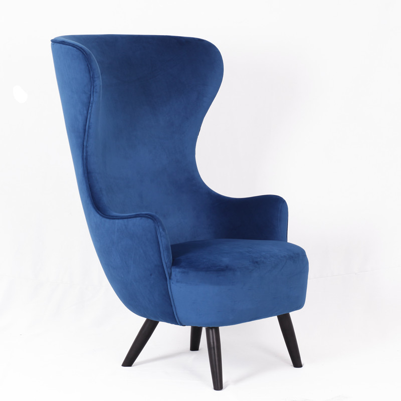 Hotel high back lobby chair armchair Wingback Chair