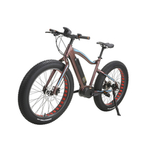 26'' Bafang Max System 36V 350W Mid Motor Fat Tire Snow Electric Bike