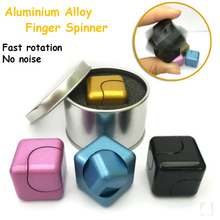 Whirlwind metal spiral spinner anti stress fidget cube hand spinner toy