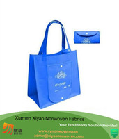 Nonwoven material handle bag foldable shopping bag