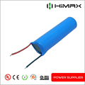 recharge li-ion 18650 battery 3.6v 2200mah