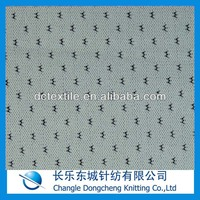 100 polyester jacquard mesh fabric for cloth