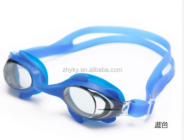 Factory direct High Quality Soft Silicone Swimming goggles for children waterproof swimming glasses