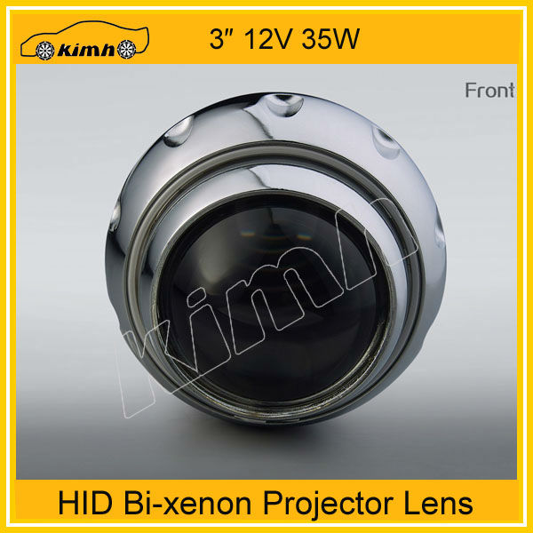 2013 wholesale bi-xenon hid projector lens light angel eyes hid xenon kit
