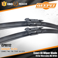 Online shop European caravan slide window wiper blade best price flat frameless auto glass wipers for merced ML W164 parts