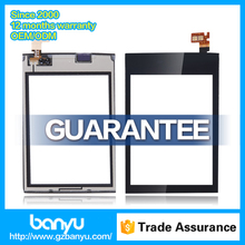 Banyu shop supply lcd touch display digitizer for nokia asha 300 touch screen
