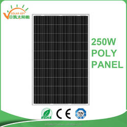 A Grade Mono Solar Panel 250w Cheaper price New/Stock/used Solar Panel