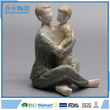 Ceramic family figurines Best Father Gift