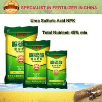 LUXI 15-15-15 Urea Sulfuric Acid NPK fertilizer
