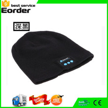 Cool Soft Beanie Warm Bluetooth Music Hat Cap with Stereo Headphone Headset Speaker Wireless Mic Hands-free for Men Women Gift