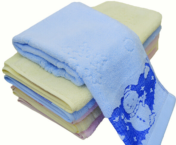 Stock Available Hand Face Towel, Jacquard Snow Flakes