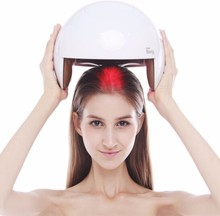 2017 hot new products low level laser therapy laser cap hair growth helmet of hair loss treatment