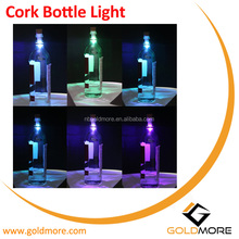 Goldmore1 Hot Selling Newest Colorful Changing Wine Cork Bottle LED Light Stopper