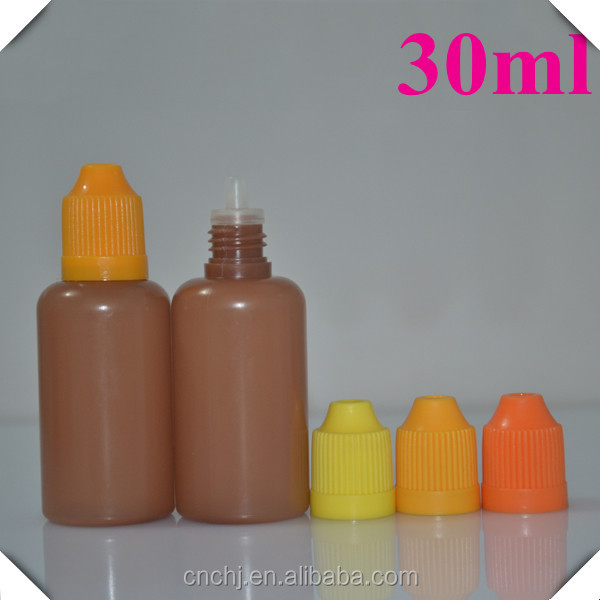 plastic material and Personal Care Industrial Use 30ml pe unique bottle
