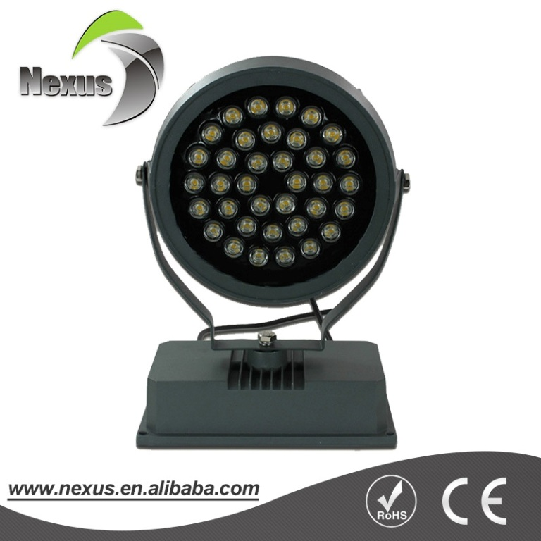 High quality IP65 waterproof christmas color changing outdoor led flood light