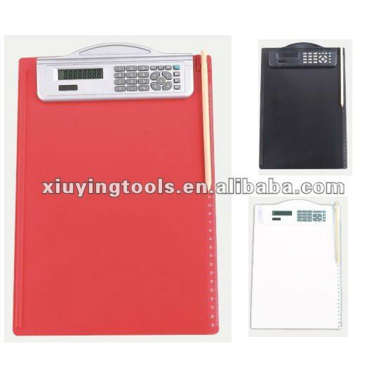 Binder Calculator with Pen holder