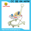 2018 New model plastic baby walker with canopy and music baby walker with light for sale baby walker with canopy