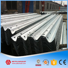 Steel W Beam Guardrail Flex Beam Highway Guardrail Road Safety Crash Barrier Price