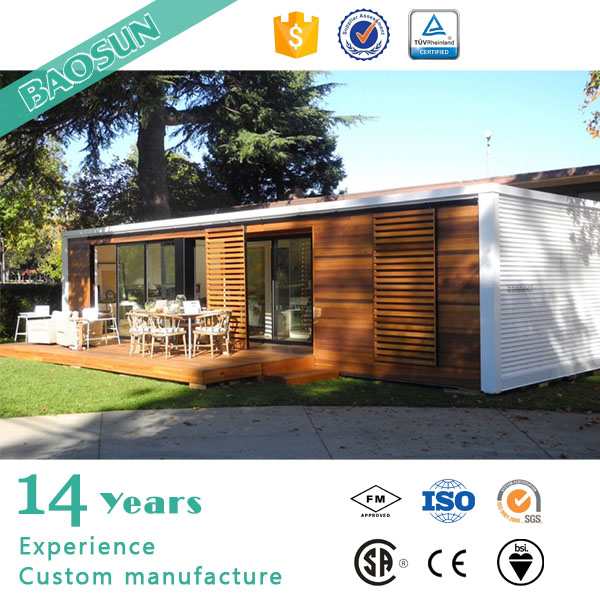 BAOSUN Demark pre manufactured shipping container home for sale