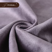 For Sale In India For Sofa Soft and Flowing Upholstery Flocked Cotton Polyester Tricot Velvet Wholesale curtain fabrics in italy