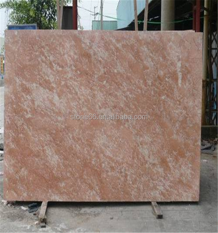 Natural Yellow Philippine Tea Rose Marble Stone low price marble tile