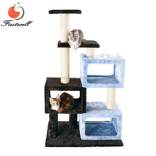 Wholesale large size New Durable Luxury Sisal Indoor Cat Tree House Furniture