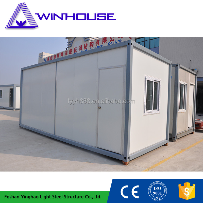 mgo pu sandwich panels container prefab house