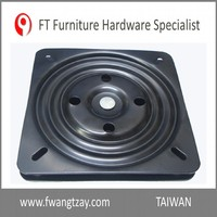Made In Taiwan High Quality 8 inch T: 2.5mm 360 Degree Heavy Duty Slient Lazy Susan Ball Bearing Turntable Barstool Swivel Plate
