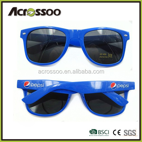 Dark Blue Promotional Sunglasses, Advertising Sunglasses, Free Samples!