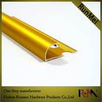 polished glod ceramic wall tile trim with great price