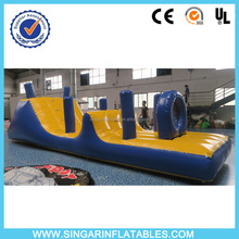 Custom inflatable water park obstacle course games