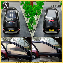 Dimmable electric car window smart tint film for privacy and heat-insulation