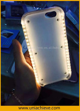 LED light led phone case ,light up face case for iphone 6/6 plus,Lumee flash light case cover