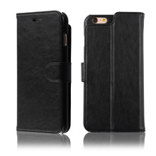 C&T Flip Leather Wallet Case 2-In-1 Magnetic Detachable Back Cover for Apple iPhone 6