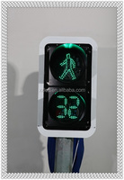 300/400/500mm hot sale led solar Pedestrian traffic signal light