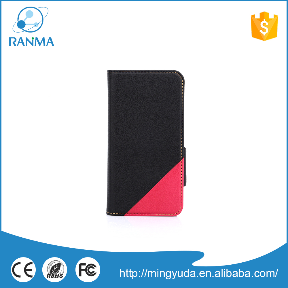 New design leather phone case for iphone 6