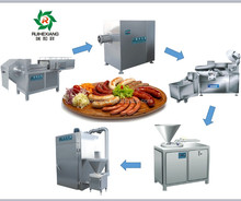 Commercial frankfurter sausage making machine