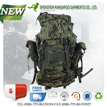 High Quality Durable Outdoor Camping Adventure 50L Waterproof Eco-friendly Digital Camouflage Backpack
