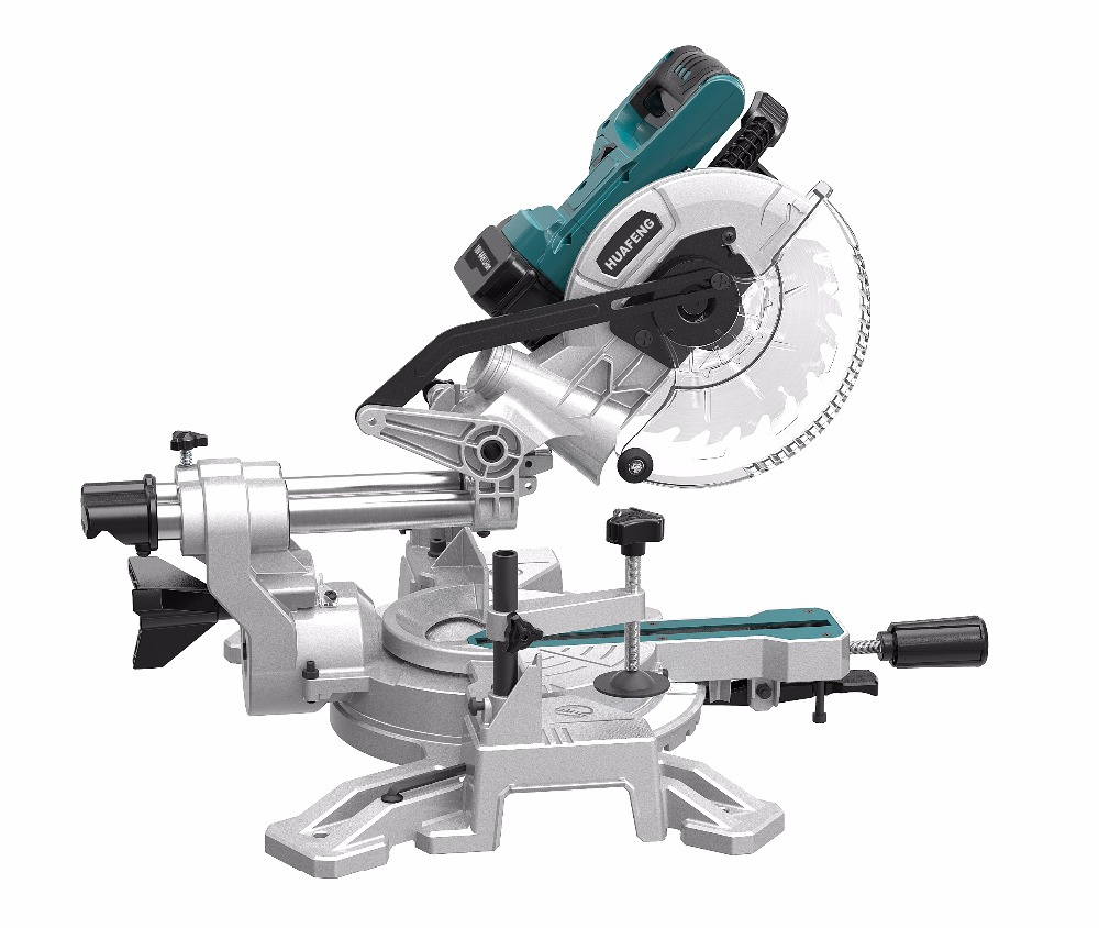 18V Li-ion 210mm Sliding Cordless Miter Saw