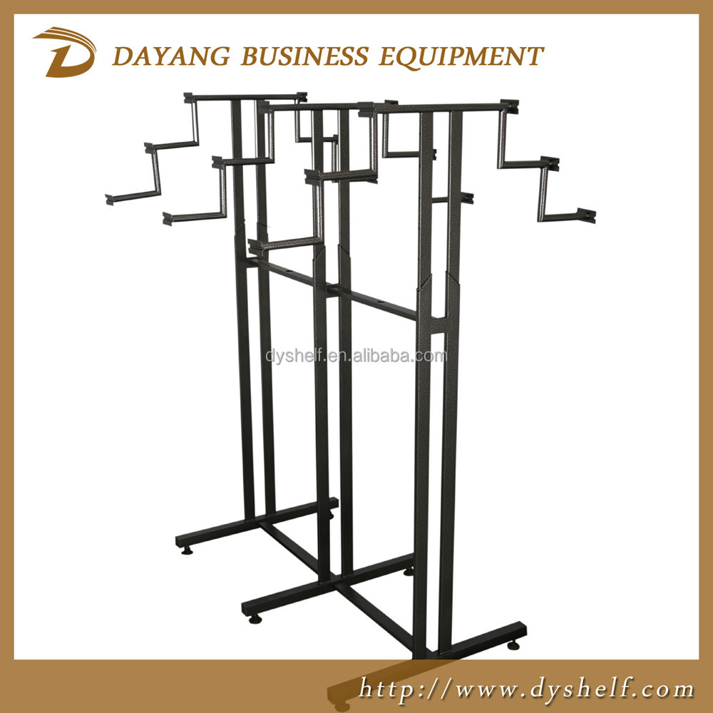 New design fashion metal boutique display rack clothing store boutique rack/warehouse racks shelf