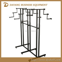 New fashion metal boutique display rack clothing store boutique rack