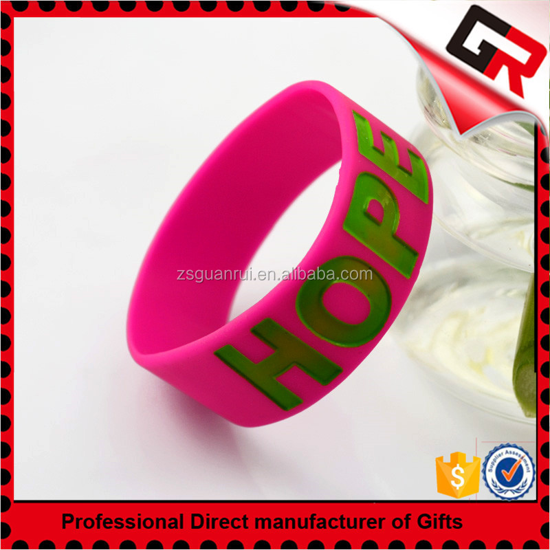 quality and quantity assured custom silicone bracelets for arthritis