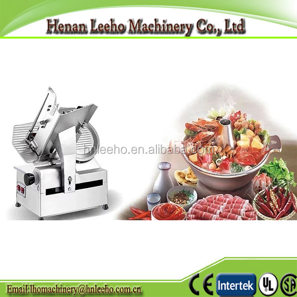 wholesale electric full automatic frozen meat slicer