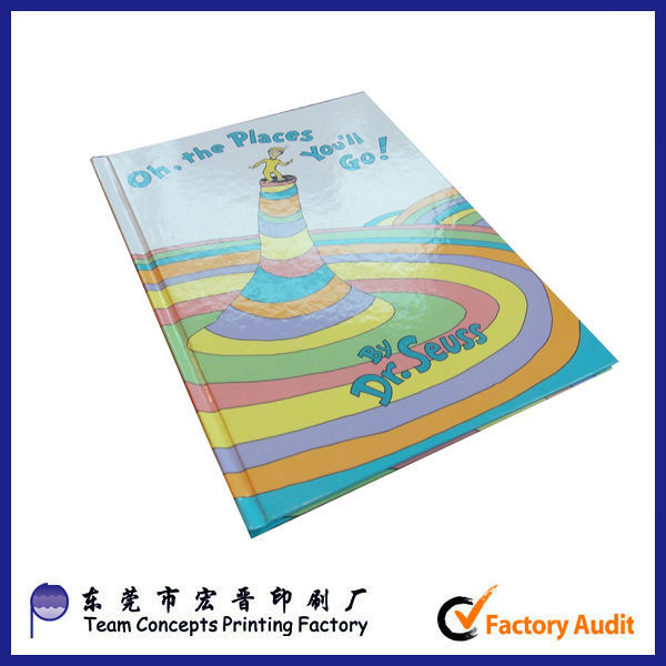 printed cheap fancy kids color filling book