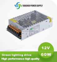 12v 60w dali led driver china manufacturer high quality 5a schneider transformer 60w power supply led